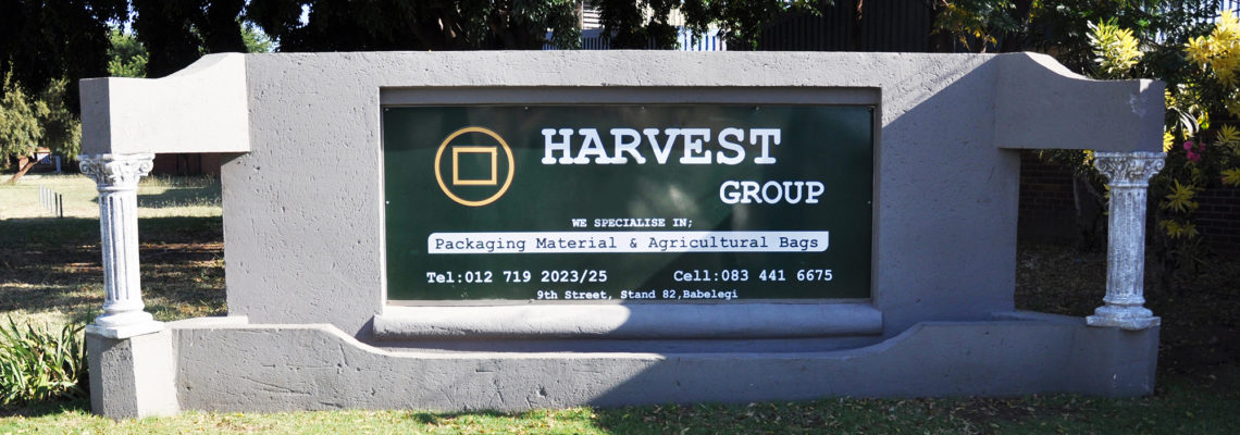 HARVEST GROUP